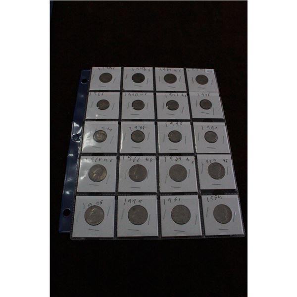 U.S.A. Coins (20)