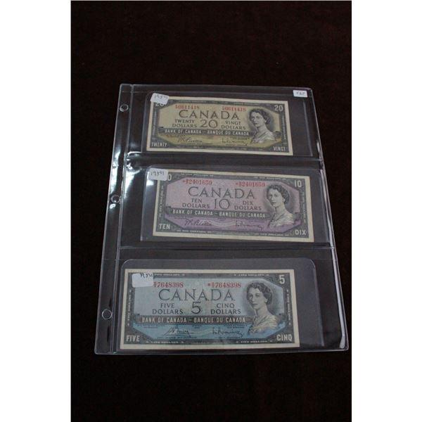 Canada Bills (3)
