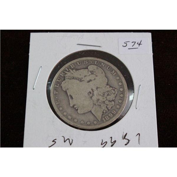 U.S.A. Morgan Dollar - 1899