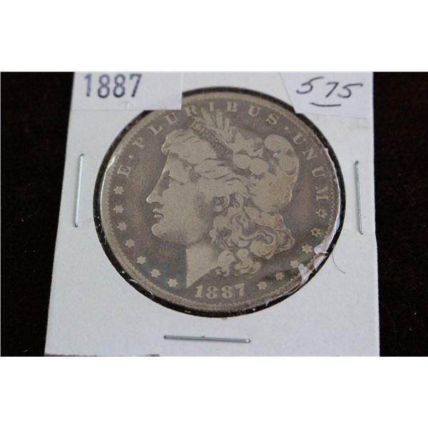 U.S.A. Morgan Dollar - 1887