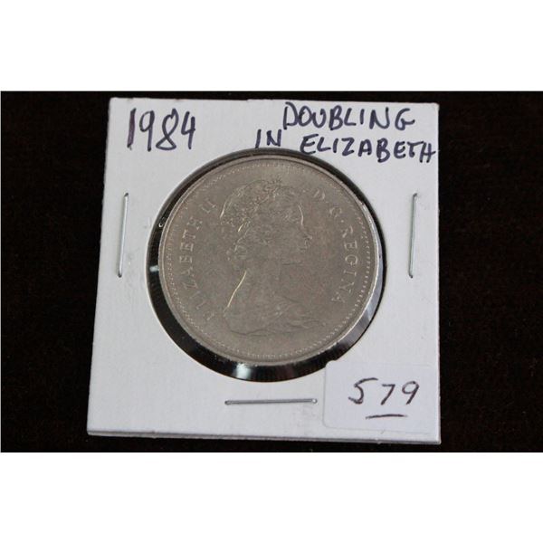 Canada One Dollar Coin - 1984