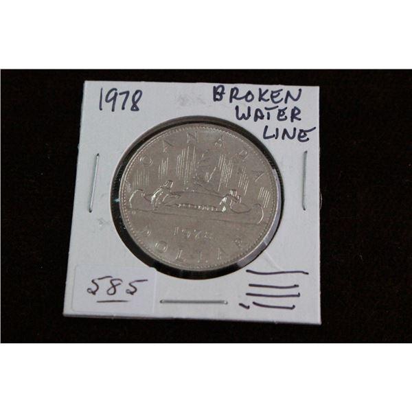 Canada One Dollar Coin - 1978