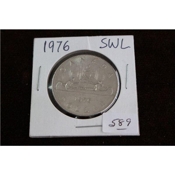 Canada One Dollar Coin - 1976
