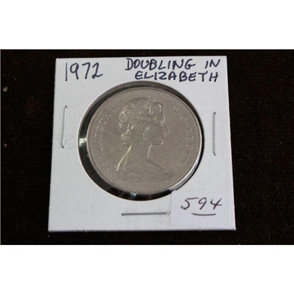 Canada One Dollar Coin - 1972