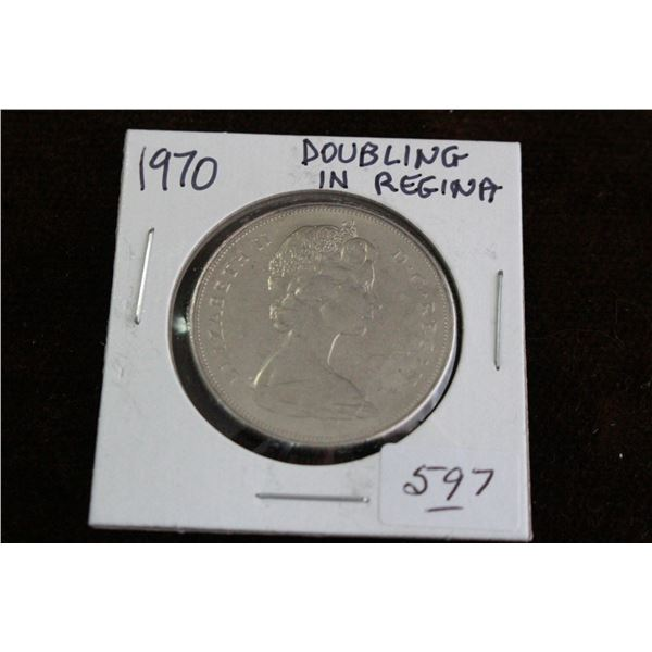 Canada One Dollar Coin - 1970