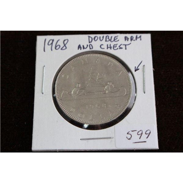 Canada One Dollar Coin - 1968