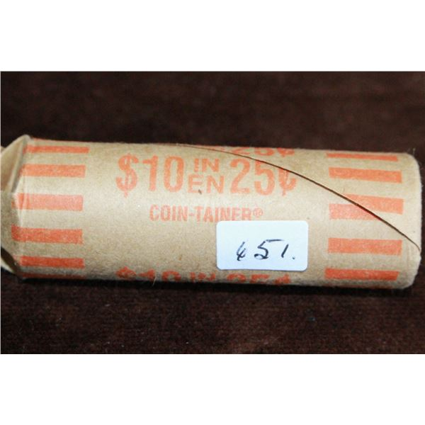 Canada Twenty-five Cent Coins (40) - 2006 (roll)