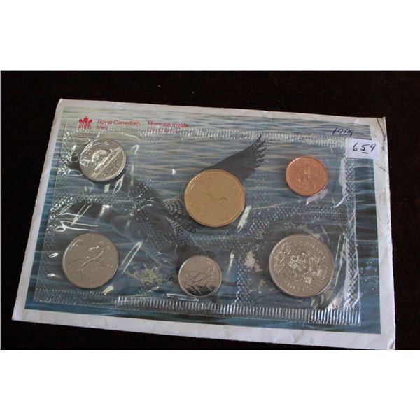 Canada Coin Set - 1989