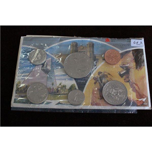 Canada Coin Set - 1979
