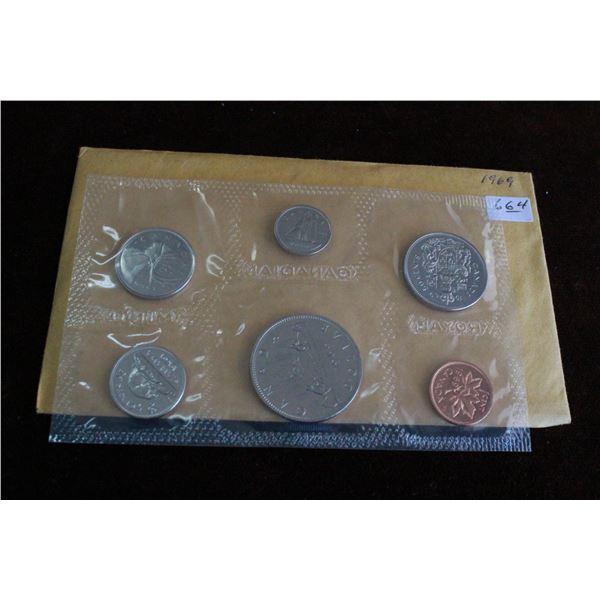 Canada Coin Set - 1969