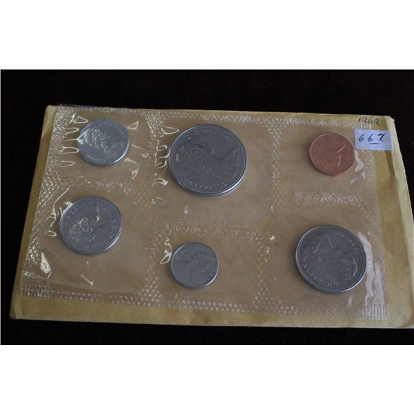 Canada Coin Set - 1968