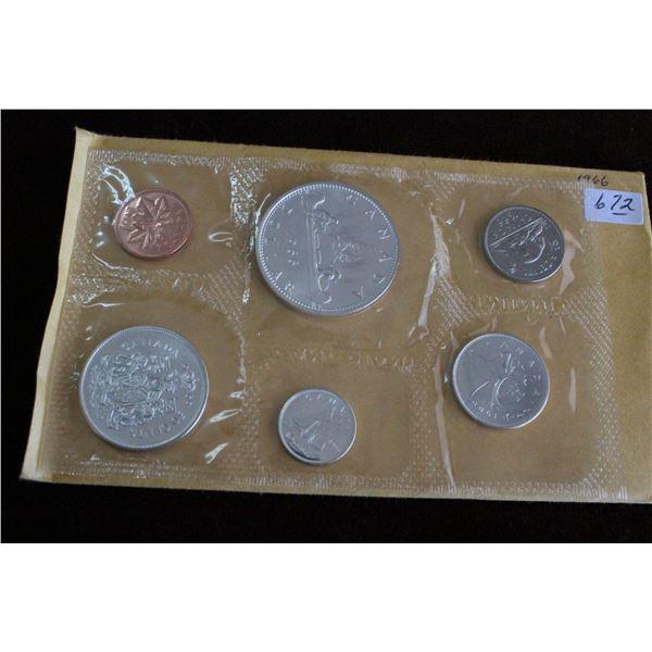 Canada Coin Set - 1966, Silver