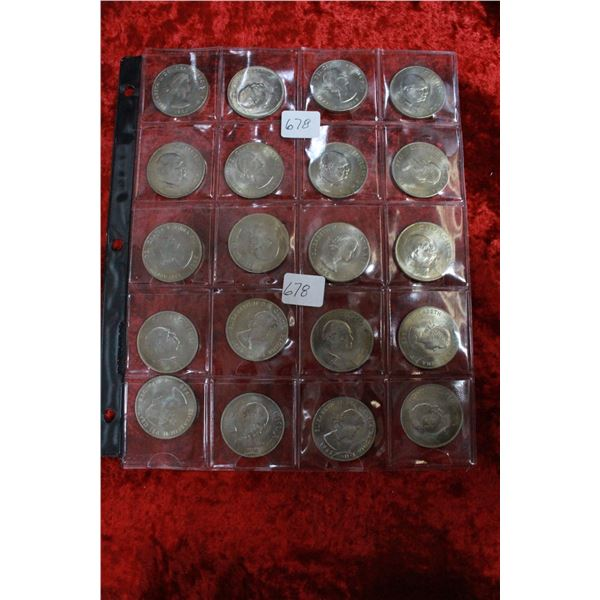 British Crown Coins (20) - (Copper/Nickel)
