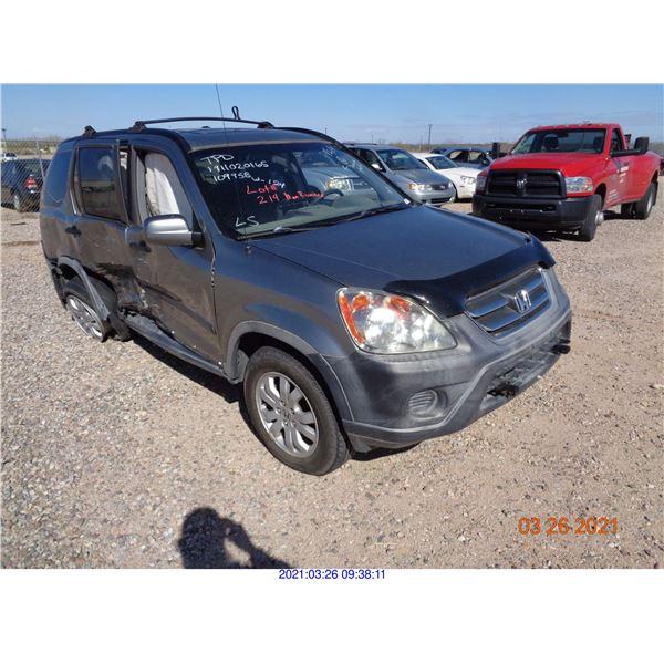 2005 - HONDA CR-V