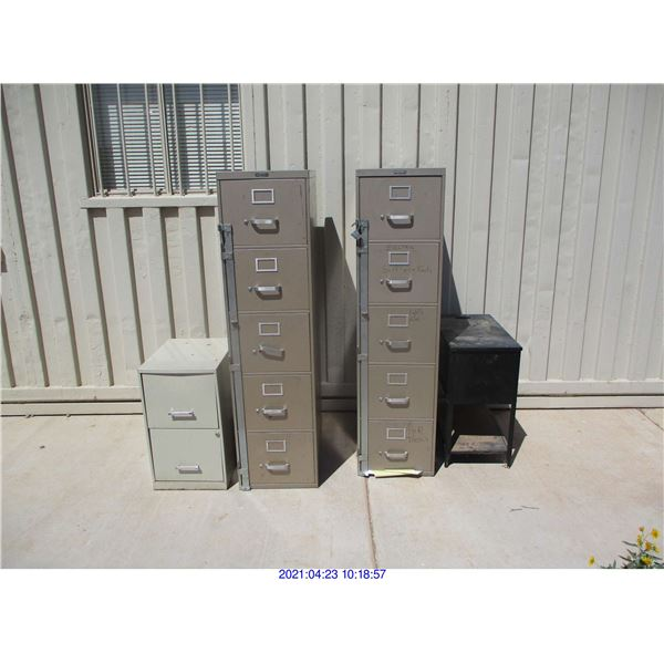 FILING CABINETS 4