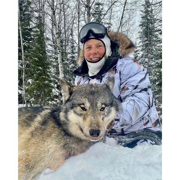 2022-2023 5-Day Wolf Hunt w/ Kap River Outfitters