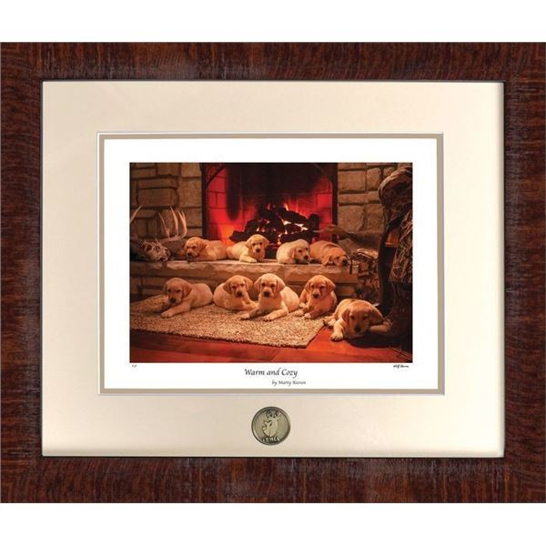 Warm and Cozy  2020 Puppy Print - Marty Keeven