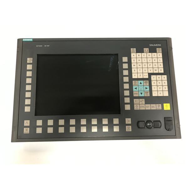 SIEMENS 6FC5203-0AF02-0AA1 OPERATOR PANEL FRONT