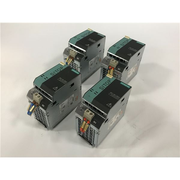 (4) SIEMENS 6EP1961-3BA01 SITOP POWER SUPPLY