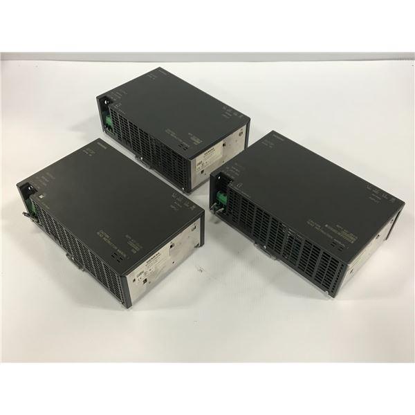 (3) SIEMENS 6EP1437-2BA10 SITOP POWER SUPPLY