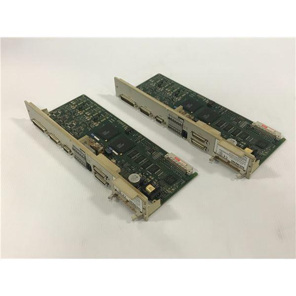 (2) SIEMENS 6SN1118-0DJ23-0AA1 CIRCUIT BOARD
