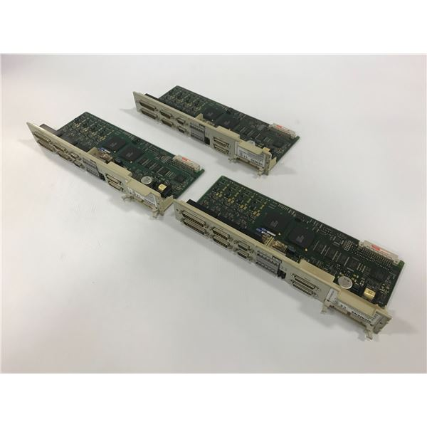 (3) SIEMENS 6SN1118-0DM23-0AA1 CIRCUIT BOARD