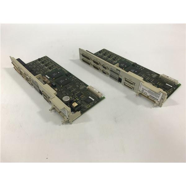 (2) SIEMENS 6SN1118-0DM33-0AA1 CIRCUIT BOARD