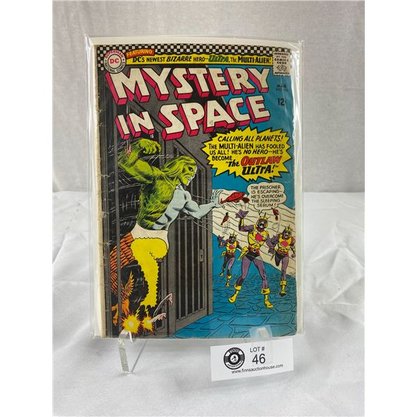 12 Cent DC Comics Mystery in Space #106 on Board in Bag