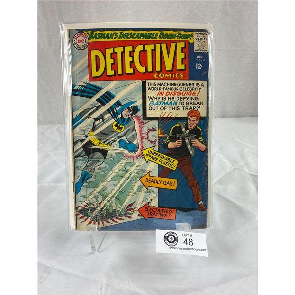 12 Cent DC Comics Detective Comics #346 on Board in Bag