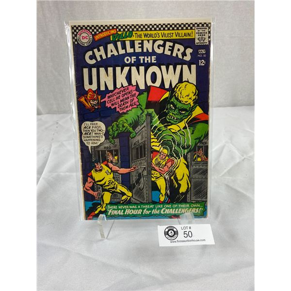 12 Cent DC Comics Challengers of the Unknown #50 on Board in Bag