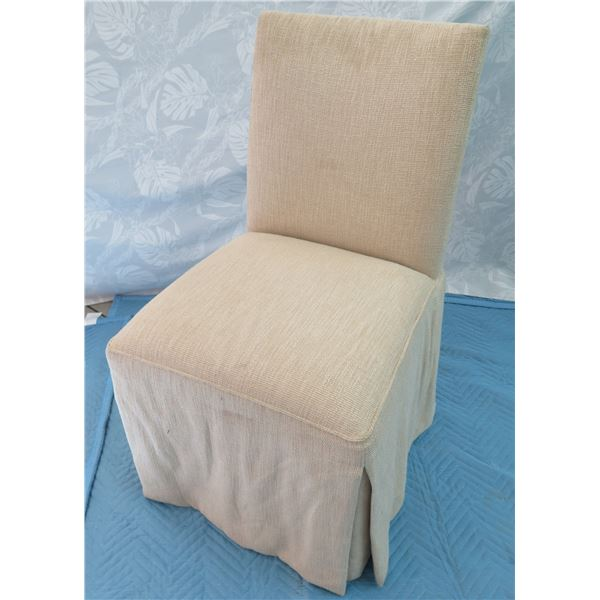 Upholstered Chair 16 x17.5 x36  Back Ht.