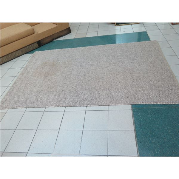 Area Rug 6ft X 12ft (one section stained or discolored)