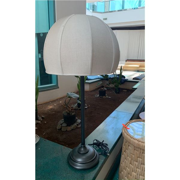 "Buffet Lamp w/ Lampshade 46"" Tall (doesn't have the lamp shade holder)"