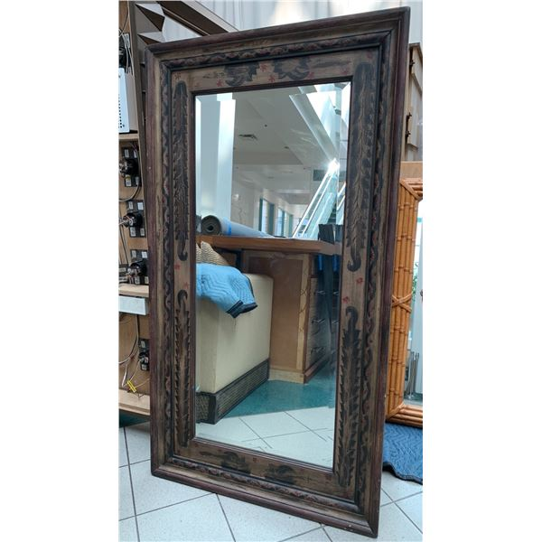 Large Pottery Barn Santorini Full-Length Mirror (Standing Easel or Wall-Mount) 66X36