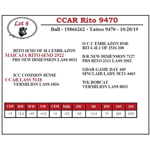 CCAR Rito 9470