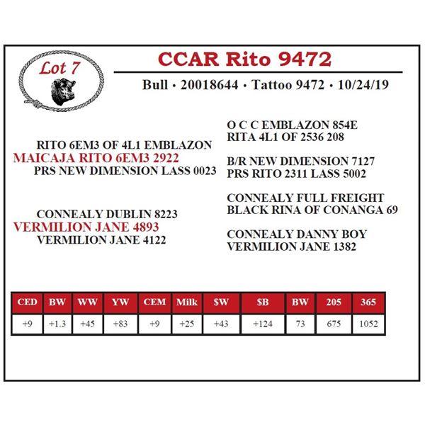 CCAR Rito 9472