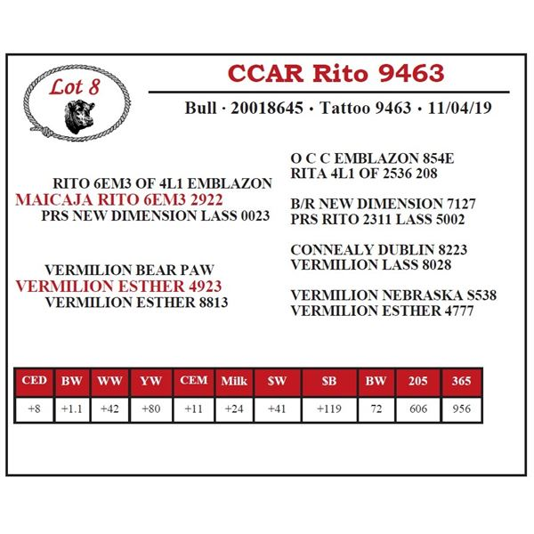CCAR Rito 9463