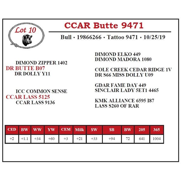 CCAR Butte 9471