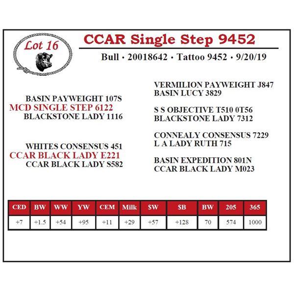 CCAR Single Step 9452