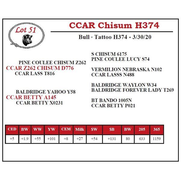 CCAR Chisum H374