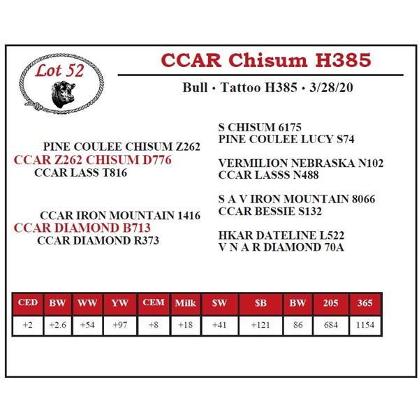 CCAR Chisum H385