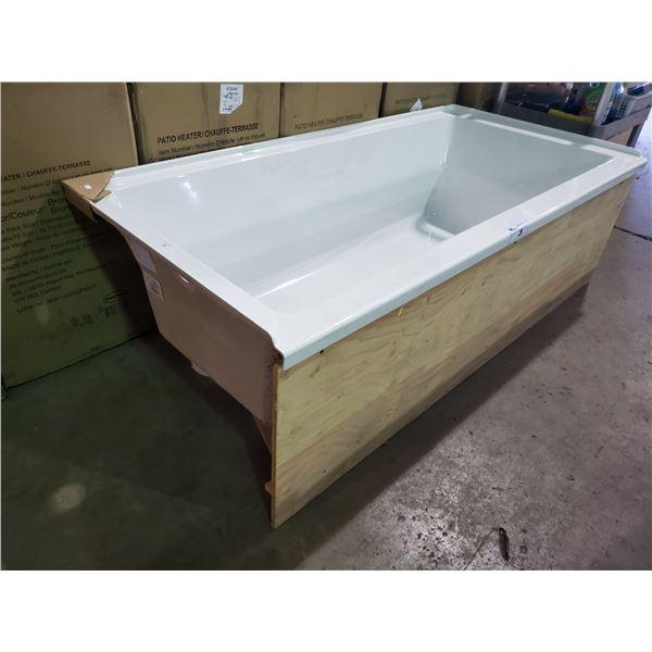PRODUITS NEPTUNE LH WHITE BATHTUB