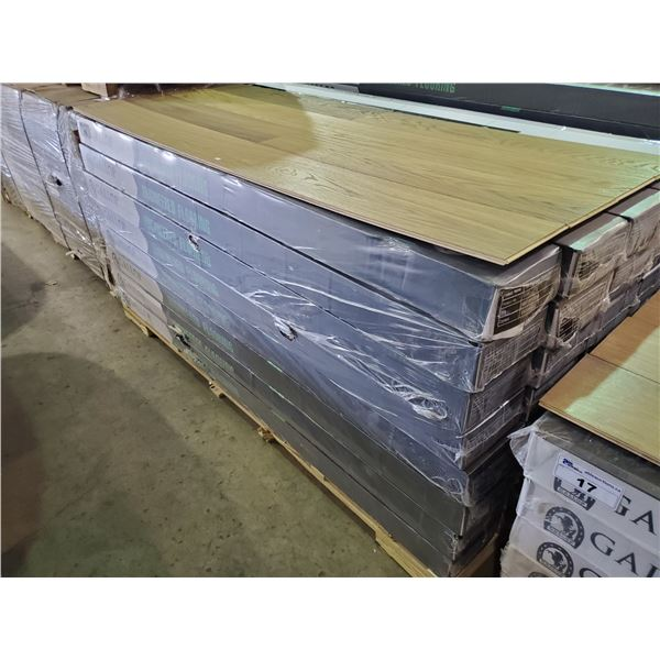 40 BOXES OF GALLOP 12MM OAK ENGINEERED FLOORING