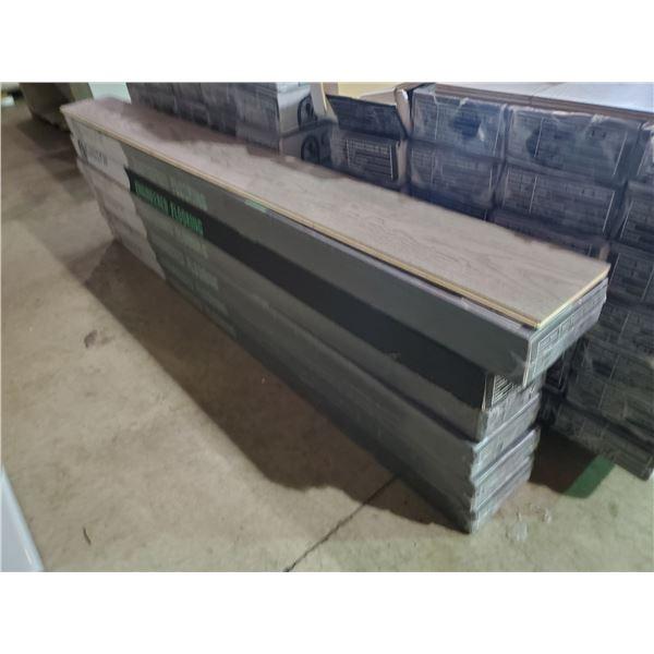 6 BOXES OF GALLOP WALNUT ENGINEERED FLOORING