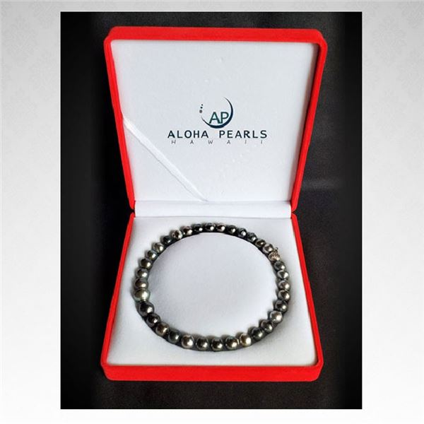 Stunning Tahitian pearl necklace from Aloha Pearls $4,500 Value! (New)