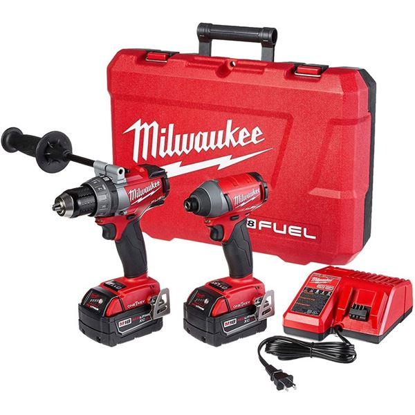 Milwaukee Impact Driver, Hammer Drill, Impact Wrench. ONE-KEY