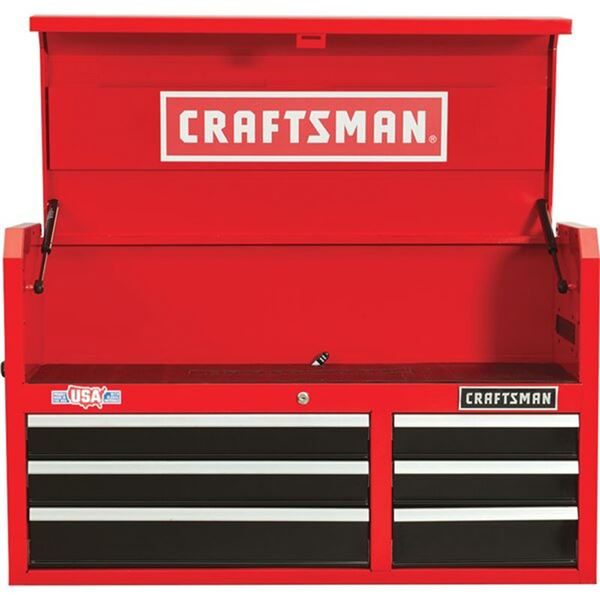 """Craftsman 2000 Series 41"""" Wide 6-Drawer Tool Chest w/ Tools, All NEW!"""