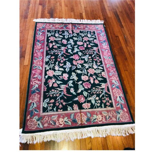 New! Handmade 72 x 49.5 '' Oriental Rug Retail Value $2000!