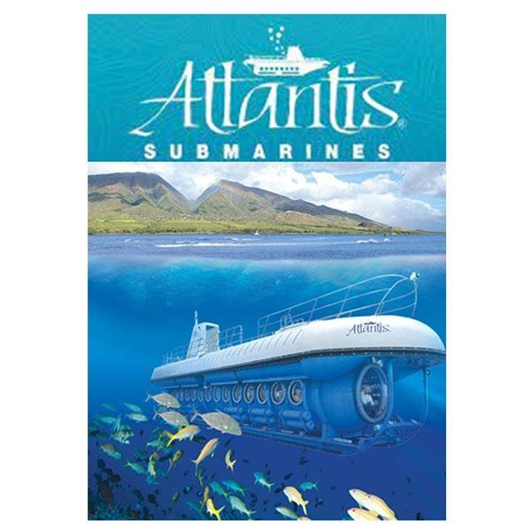 (2) Atlantis Submarine rides for two! (Oahu, Maui, Kona) Expires 12/31/21