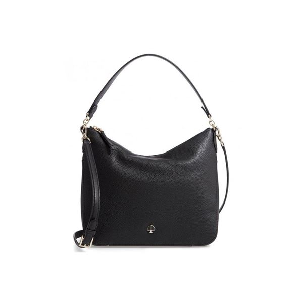 New Kate Spade Black Medium Shoulder Bag & Private Shopping Party for 21